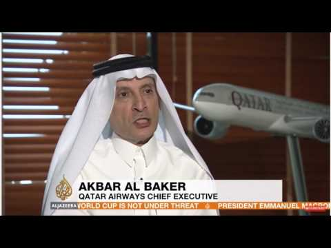 Defiant, angry tone at GCC partners/Trump from Qatar Airways CEO Al Baker