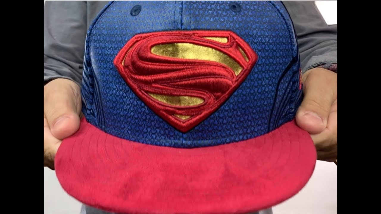 Superman  CHARACTER JUSTICE LEAGUE  Fitted Hat by New Era - YouTube 15a49fadcaf