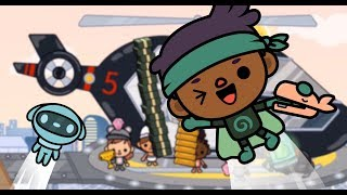 FLYING BABIES WITH GOLD | Toca Life: Office