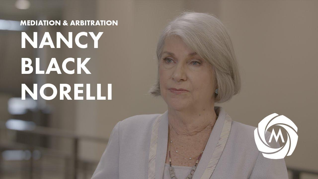 Nancy Black Norelli, Mediator & Arbitrator video