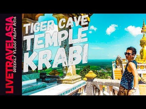 Tiger Cave Temple Climb Krabi, Thailand Best View in Krabi/Phuket Thailand