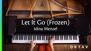 Let It Go (Disney's Frozen) EASY Piano Cover