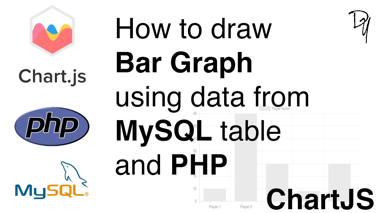 How To Draw Bar Graph Using Data From Mysql Table And Php Chartjs