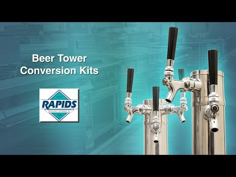 How To Adapt A Kegerator Tap Tower For More Beers