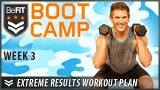 Extreme Results Workout Plan With Scott Herman: Week 3- Befit Bootcamp
