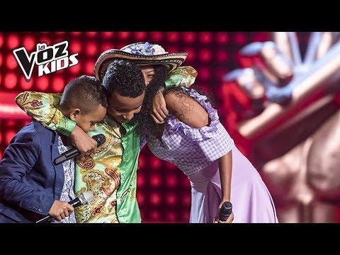 Víctor Swing, Saray y Santy Santos cantaron en la Súper Batalla de Cepeda