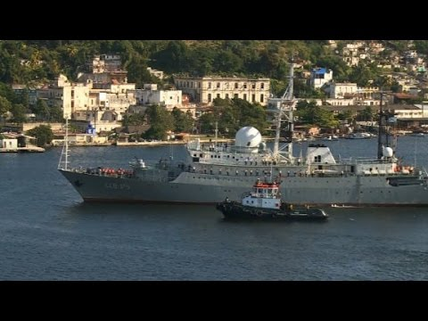 Russian spy ship spotted off of US coast