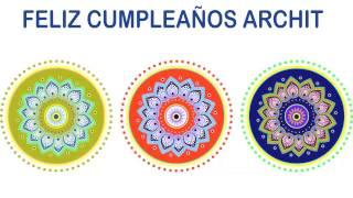 Archit   Indian Designs - Happy Birthday