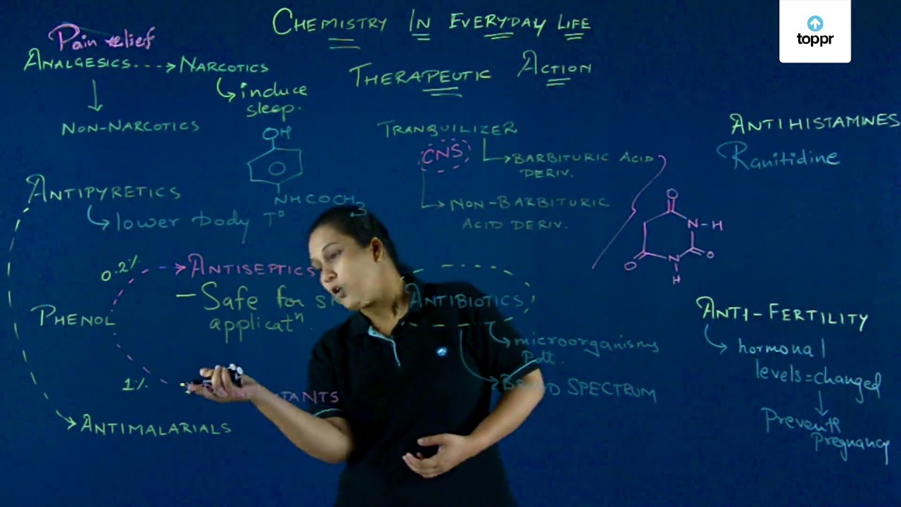 Classification of Drugs: Meaning, Concepts, Videos and Solved Examples