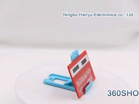 How to use  Credit Card Mini Pocket Calculator HY 2008