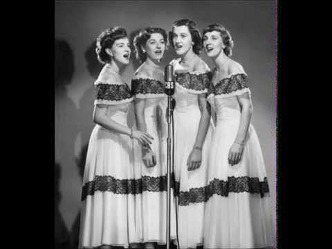 The Chordettes,They Say Its Wonderful (1954)
