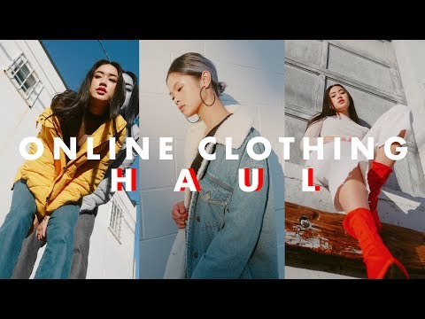 ONLINE CLOTHING HAUL - Fall/Winter Essentials