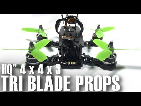 """HQ 4"""" Triblade Props - ZMR 180 Frame"""