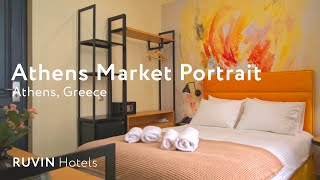 Market Portrait Athens Hotel Review | Athens | Greece (2019)