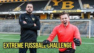 Der heftigste TORWART von Instagram gegen mich in dieser Fussball Challenge!