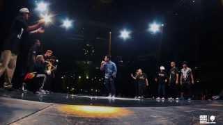 TEAM JAPAN VS TEAM BRASIL(THE WORLD STREET  DANCE 2013)