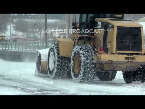 03-14-19 Rapid City, SD - Vehicles Stuck Blizzard Drifts Heavy Duty Snow Removal And Timelapse