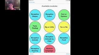 Language Skill Builder - Special Needs ABA Training - Autism Plugged In App Review