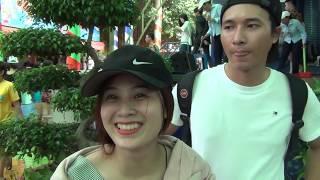LẦN ĐẦU ĐI ĐẦM SEN   Biển người ở công viên nước Đầm Sen   swimming pool in Vietnam   Tập 11