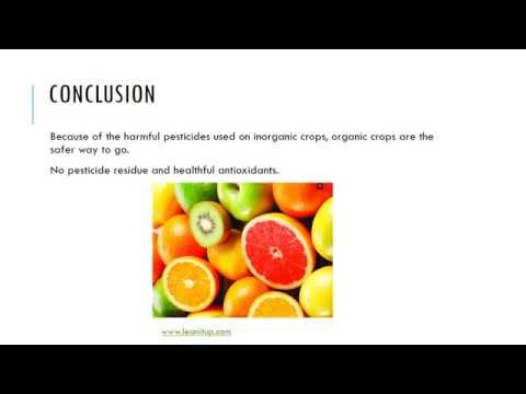 Organic Food and Health Benefits