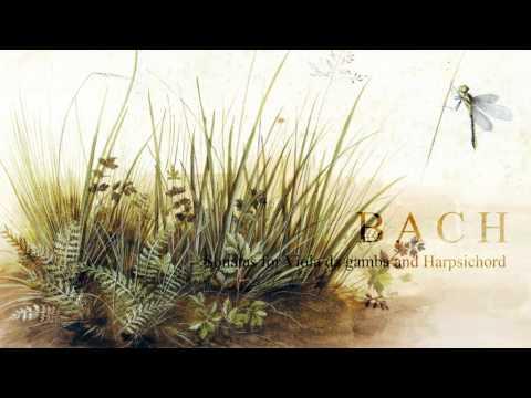 J.S. Bach: Sonatas for Viola da gamba and Harpsichord [P.Pandolfo-R.Alessandrini]