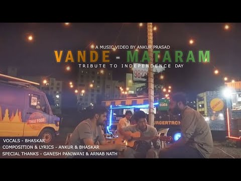 Vande Matram | Music Video | Tribute to Independence | Jai Hind