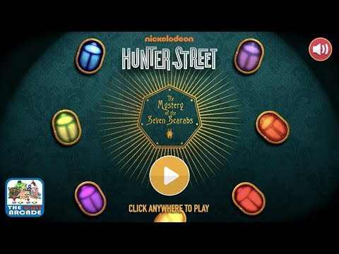 Hunter Street: The Mystery Of The Seven Scarabs - Find The Mask Of Anubis (Nickelodeon Games)
