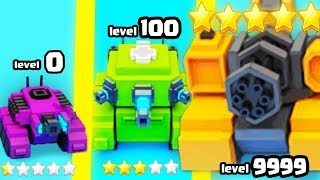IS THIS THE STRONGEST TANK BLOCK EVOLUTION? (9999+ BLAST UPGRADE HIGHEST LEVEL) l Tank Block Blast