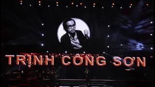 CanhCung Media - Đêm nhạc Trịnh Công Sơn 2017