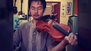 """Belajar Biola """"Khusnul khotimah-Opick"""" Cover ViolinKu"""