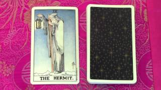 The Hermit Major Arcana #9 - Meaning and Interpretation in a Tarot Reading