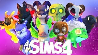 ALL NEW FAMILIAR PETS Sims 4 Realm Of Magic Gameplay