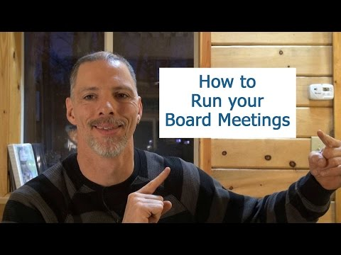 how-to-run-a-board-meeting
