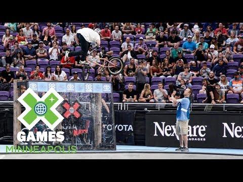 Alex Hiam wins Dave Mirra's BMX Park Best Trick   X Games Minneapolis 2018