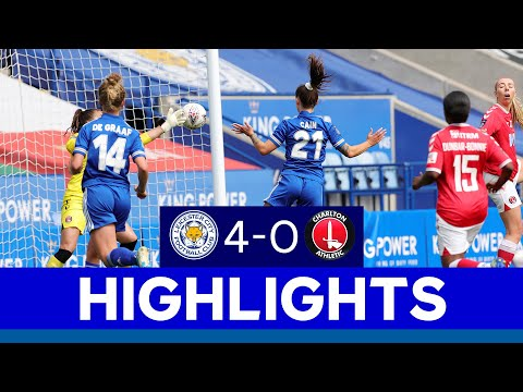 Foxes Hit Four In King Power Stadium Debut | LCFC Women 4 Charlton Athletic Women 0 | 2020/21