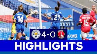 Foxes Hit Four In King Power Stadium Debut   LCFC Women 4 Charlton Athletic Women 0   2020/21