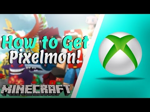 How To Download Pixelmon Mod On Xbox One Minecraft (Tutorial)