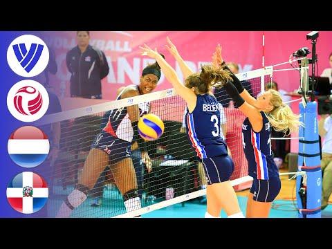 Netherlands Vs. Dominican Republic - Full Match   Women's Volleyball World Grand Prix 2017