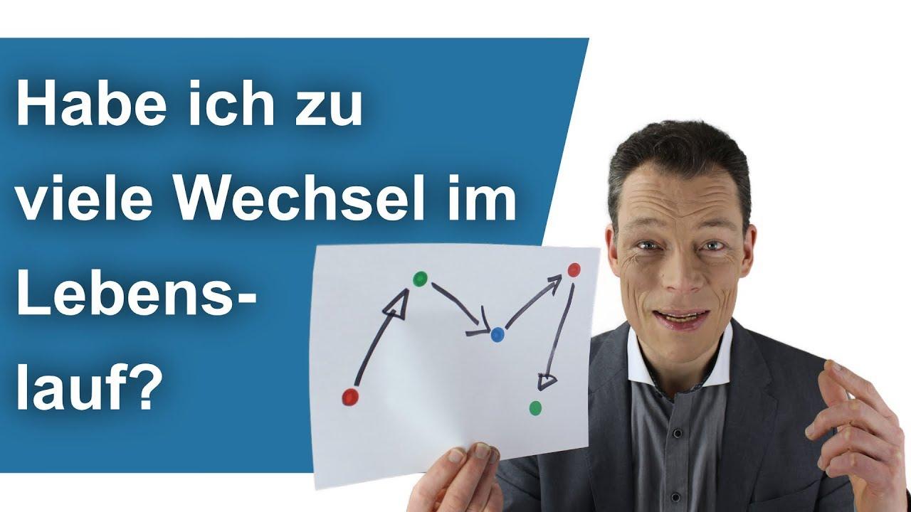 Lebenslauf Bewerbung: Habe ich zu viele Wechsel? Frag Coach Wehrle ...