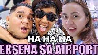 ANG CLINGY NI PARTNER SA AIRPORT (Walang Forever) | LC VLOGS #122