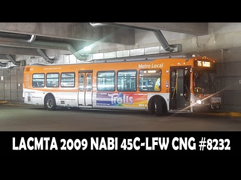 Los Angeles County Metropolitan Transportation Authority 2009 NABI 45C LFW CNG #8232