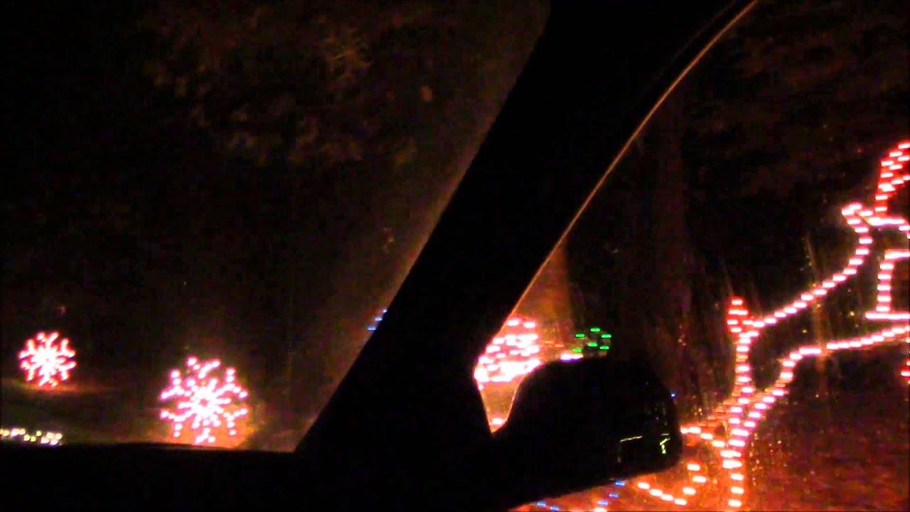 Norfolk Botanical Garden Christmas Lights Part 1 Youtube