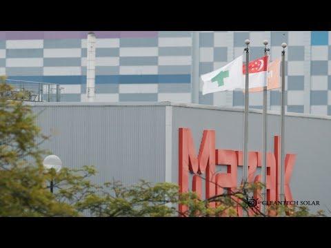 Mazak Singapore's Solar System powered by Cleantech Solar