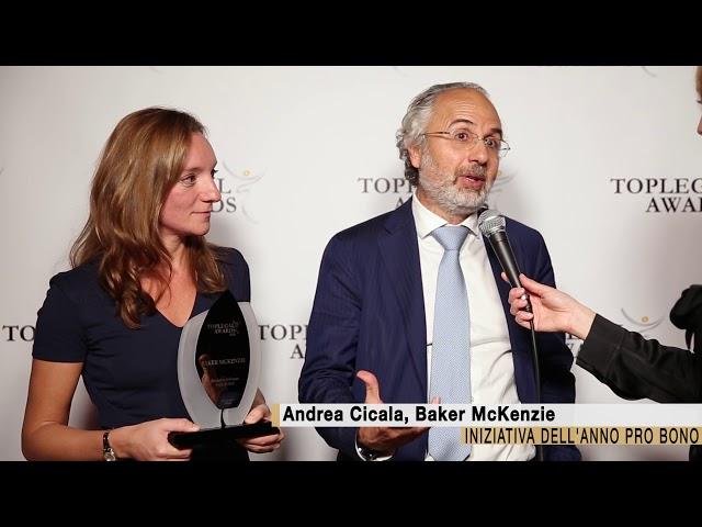 Andrea Cicala, Baker McKenzie - TopLegal Awards 2018