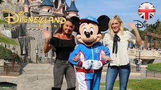 DISNEYLAND PARIS | Famous Faces at the Disneyland Paris Half-Marathon! | Official Disney UK