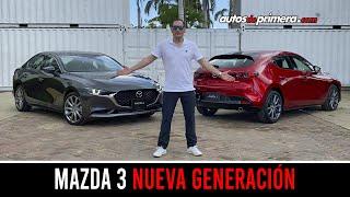 Mazda 3 2020 🔥 Así es la Nueva Generación, lo probamos 🔥 Primer Contacto