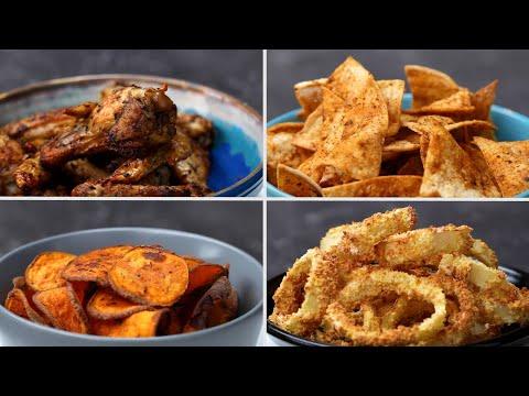 4 Easy And Zesty Air Fryer Snacks • Tasty Recipes