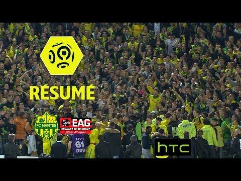 FC Nantes - EA Guingamp (4-1)  - Résumé - (FCN - EAG) / 2016-17