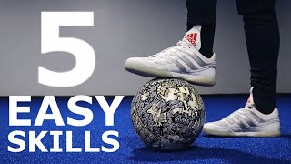 5 Easy Skills To Master The Ball | Ball Mastery Exercises For Footballers