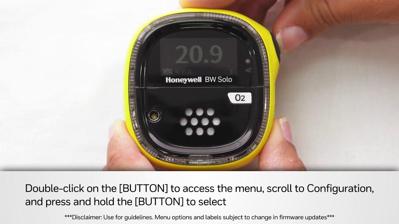 Honeywell BW Solo Series Single-Gas Detectors